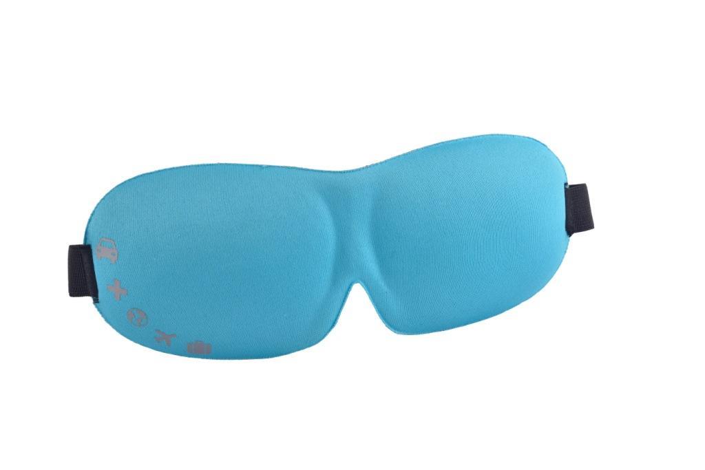 3D-маска для сна Romix RH37, цвет: голубой