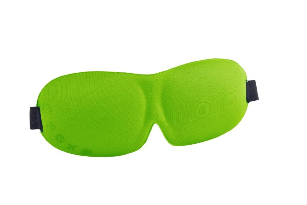 3D-маска для сна Romix RH37, цвет: зеленый