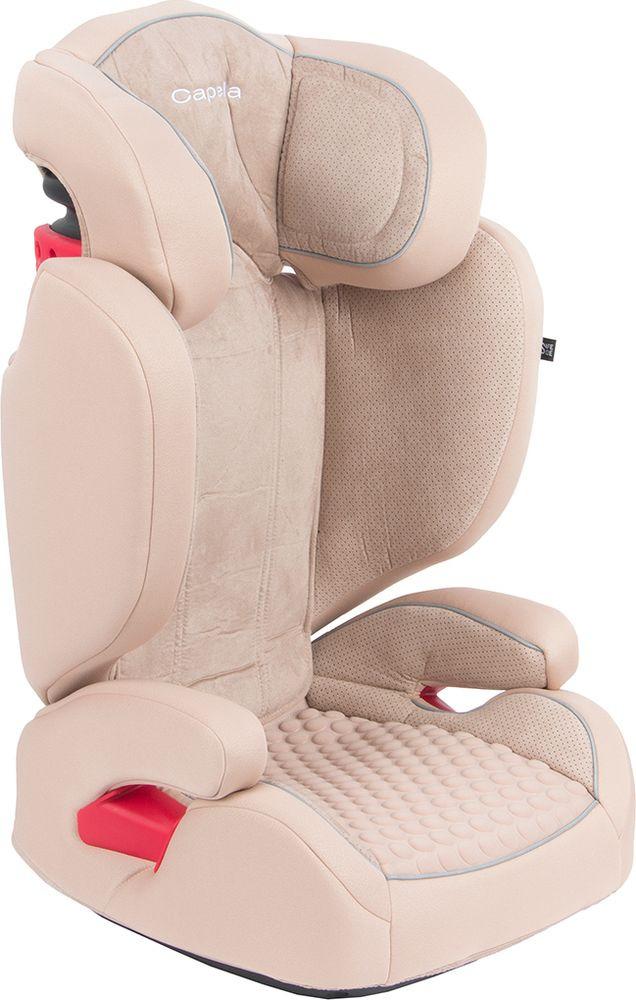 Автокресло Capella от 15 до 36 кг, GL000371571, бежевый автокресло capella 15 36 кг s2311 red
