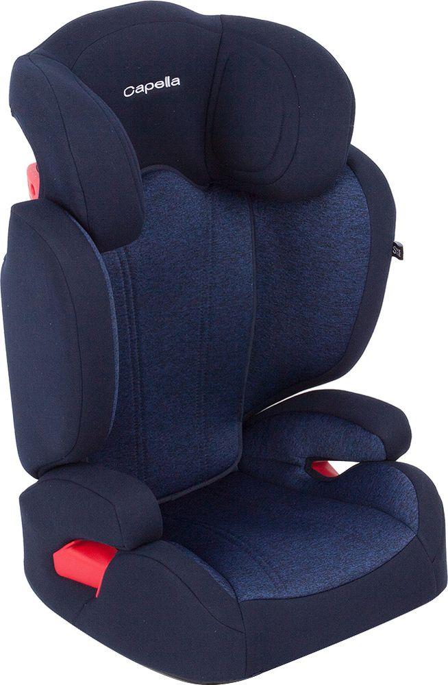 Автокресло Capella Isofix, 15-36 кг, цвет: синий меланж защита для автомобильного кресла bradex авто кроха