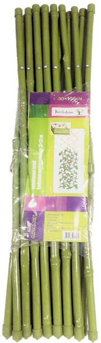 все цены на Решетка бамбуковая Best Solution, в пластике, 30 х 135 см онлайн