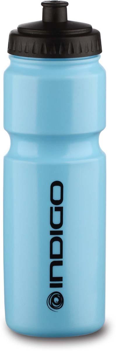 Бутылка для воды Indigo Baikal, цвет: синий, черный, 800 мл