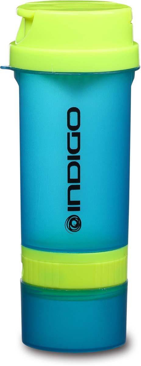 Шейкер Indigo Bolon, 600 млIN016Имеет два съемных контейнера, стакан для жидкости, вогнутое сито, крышка с горлышком, мерная шкала. Безопасный пластик без содержания Бисфенол-А.