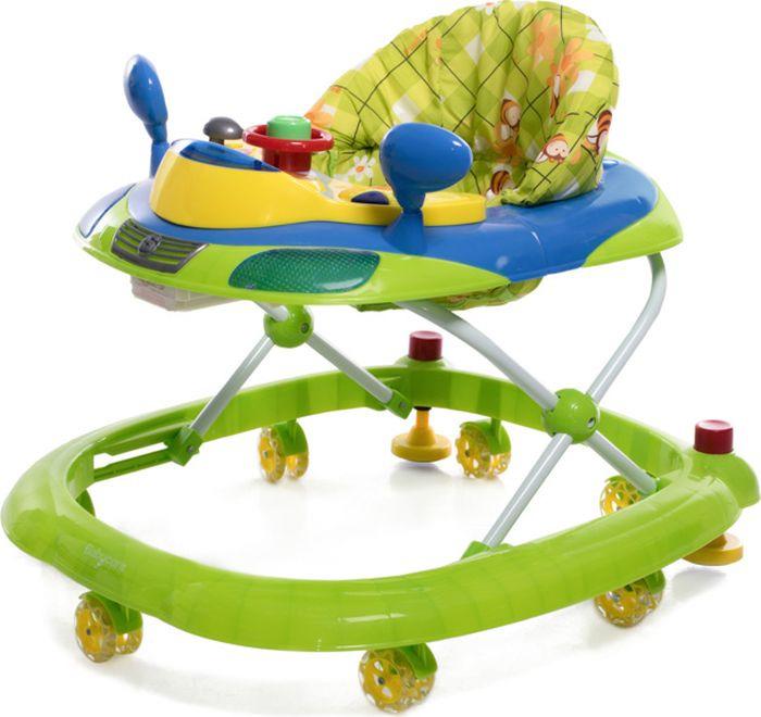 Ходунки Baby Care Prix, цвет: синий. 4680210038008