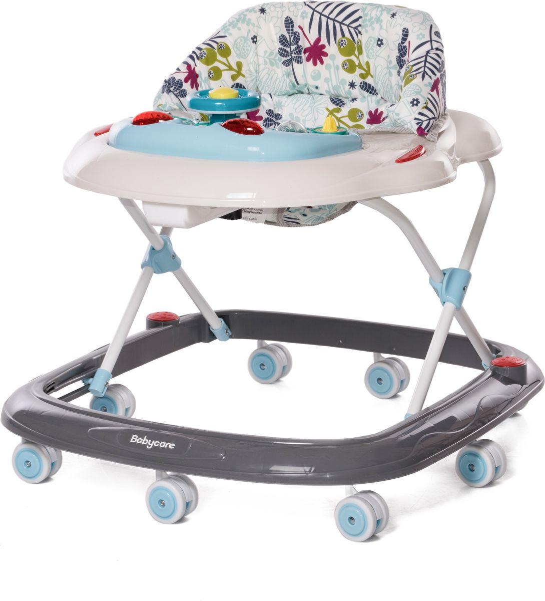 Ходунки Baby Care Pilot, цвет: белый детские ходунки