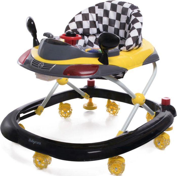 Ходунки Baby Care Prix, цвет: желтый baby care baby care детские ходунки prix желтый
