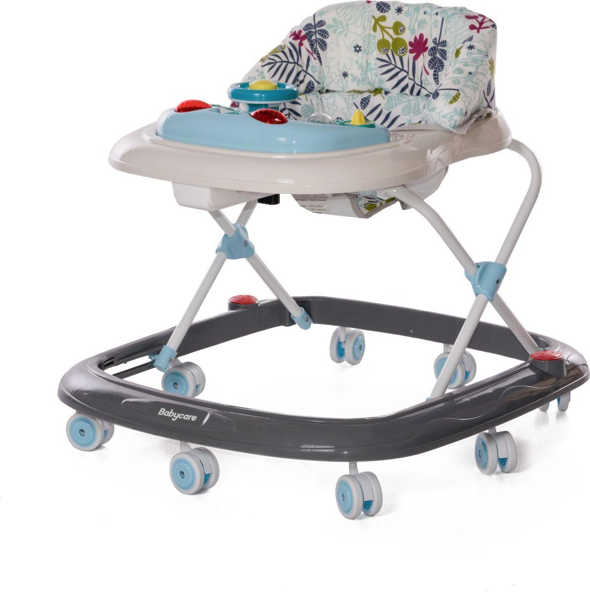 Ходунки Baby Care Flip, цвет: белый