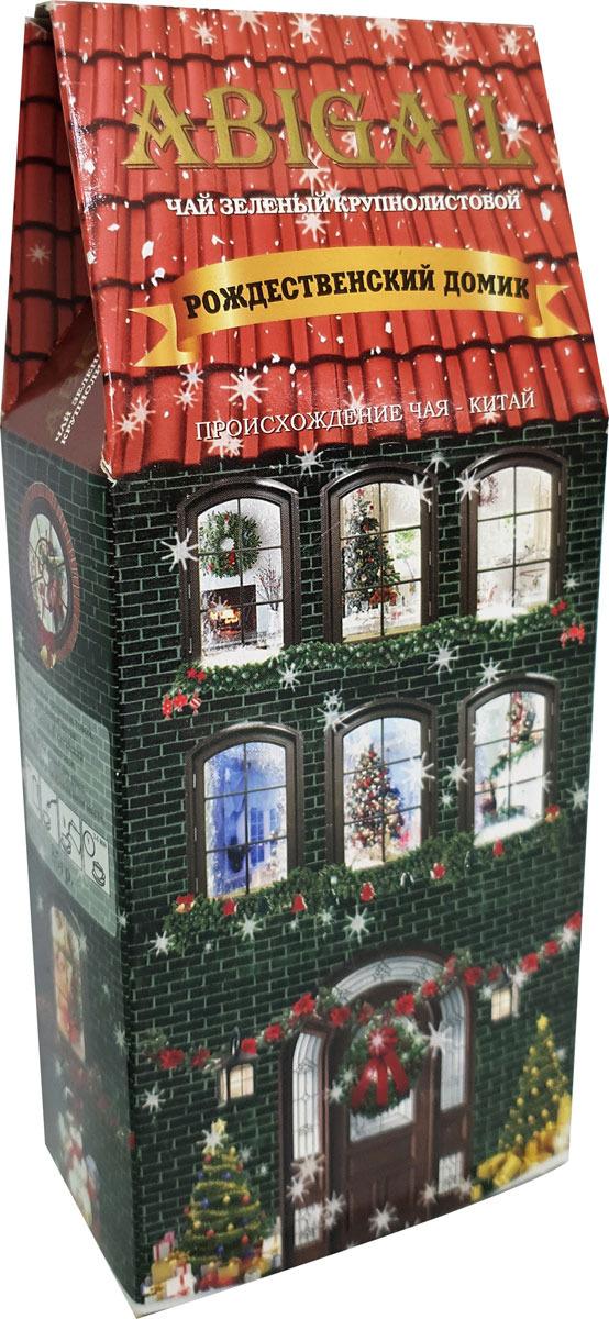 Чай листовой зеленый Abigail Зеленый домик зимний, 85 г чай листовой abigail чайный домик со снеговиком жасминовая спираль 50 г