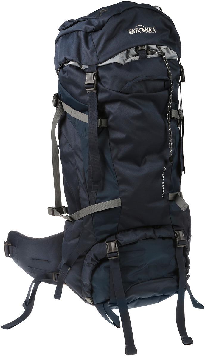 Рюкзак туристический Tatonka Karas, цвет: синий, 60+10 л цена и фото