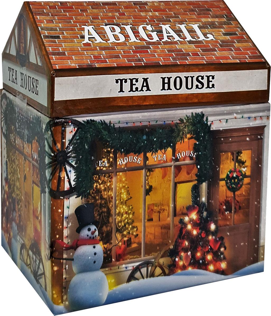 Чай листовой черный Abigail Чайный домик , с шалфеем , 170 г чай листовой abigail чайный домик со снеговиком жасминовая спираль 50 г
