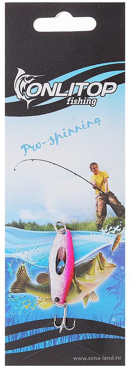 Блесна Onlitop Кастмастер, вес 7 г. 12328601232860Блесна — уникальная приманка для рыб. С ней обычный любитель рыбалки, как по щучьему велению, превращается в профессионала.
