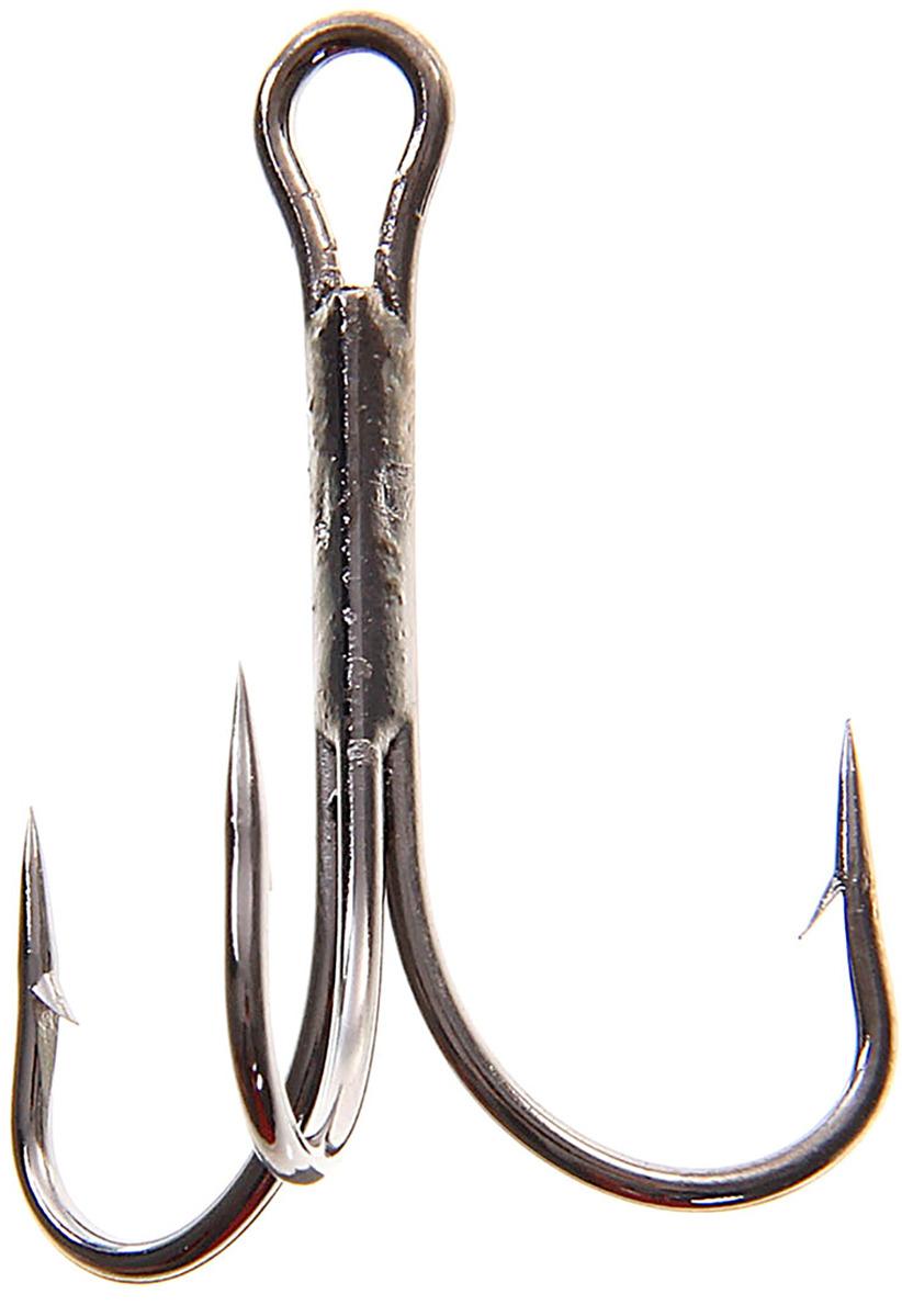 Крючок Onlitop O'Shaughnessy Treble, тройной, размер 1/0, 10 шт. 132300