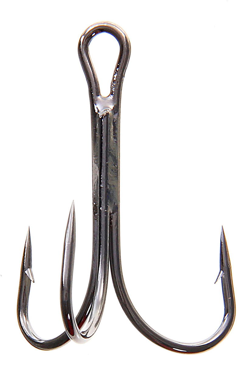 Крючок Onlitop O'Shaughnessy Treble, тройной, размер 2/0, 10 шт. 132301
