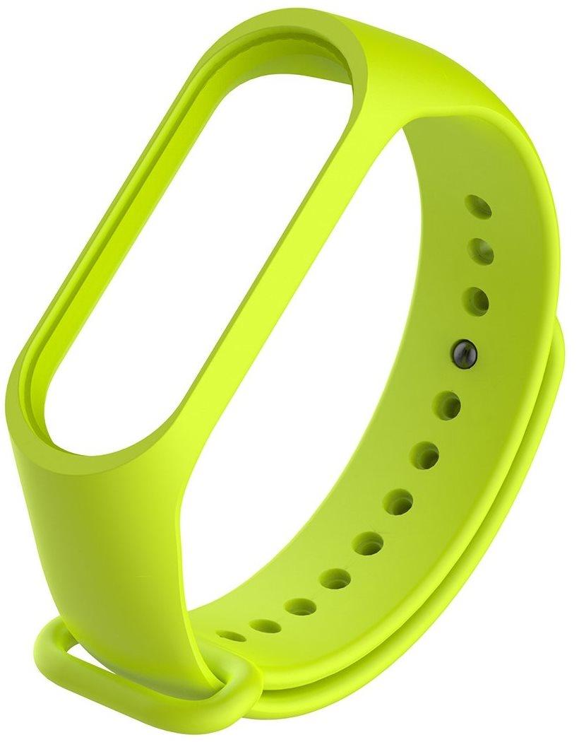Ремешок силиконовый для фитнес трекера Roxmi Xiaomi Mi Band 3, зеленый цена и фото