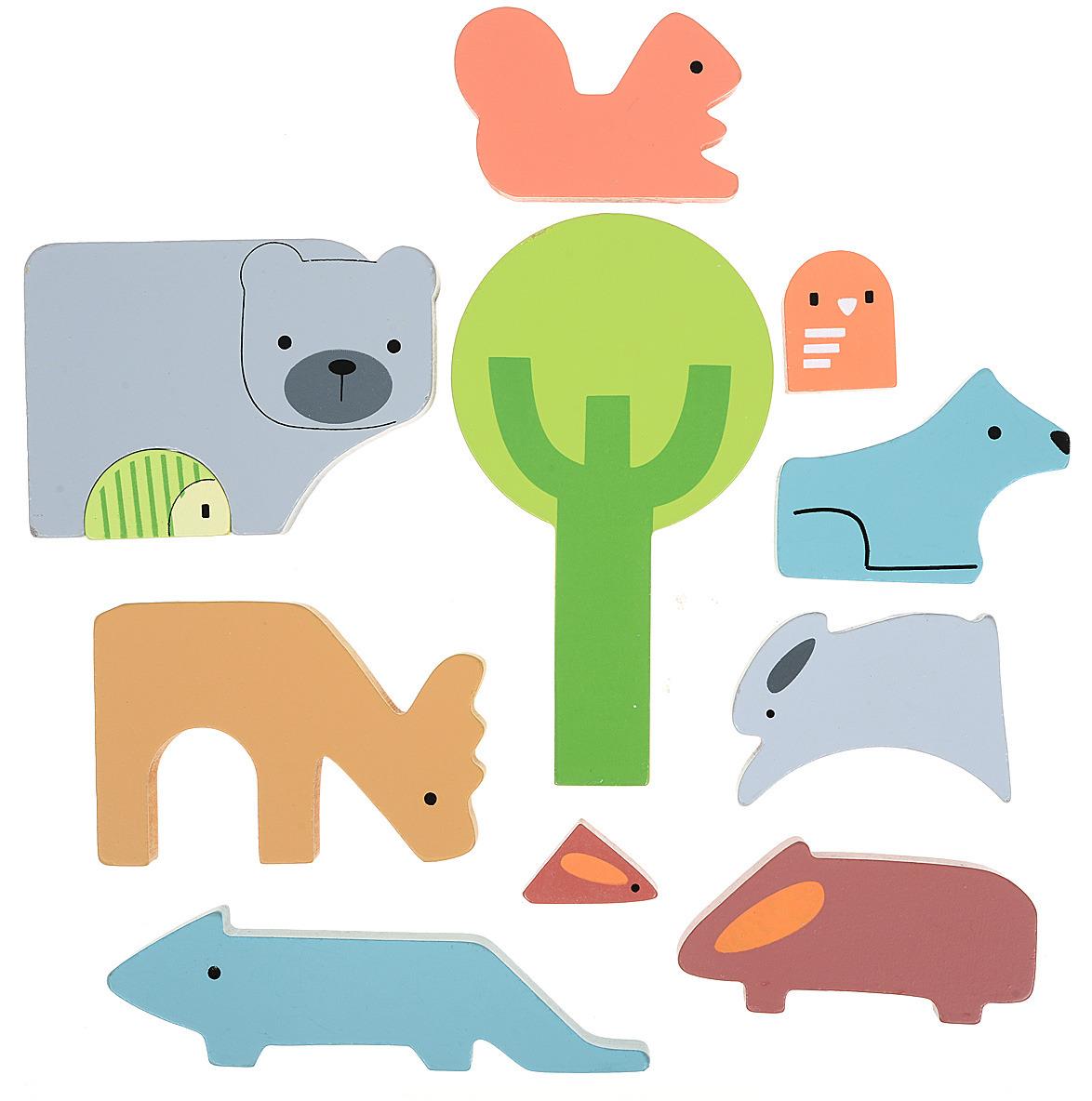 Mapacha Пазл для малышей Животные цена 2017