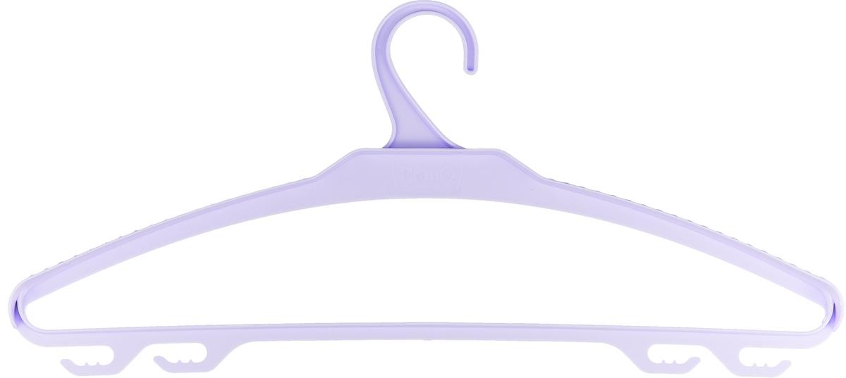 Вешалка-плечики для верхней одежды BranQ, цвет:сиреневый размер 52-54 офисные вешалки напольные для одежды