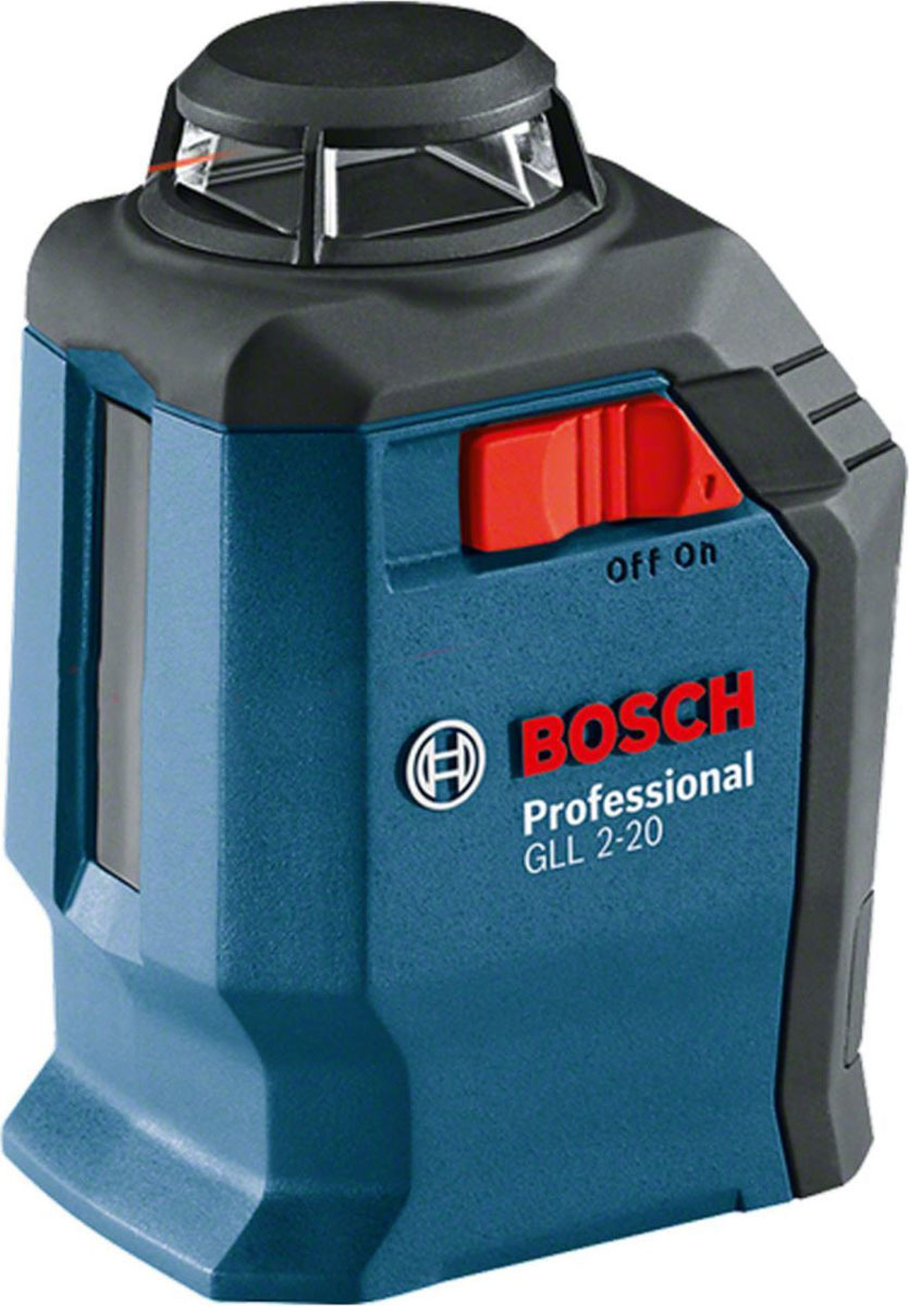 Нивелир Bosch GLL 2-20 Professional0601063J00Информация об GLL 2-20 Professional GLL 2-20 Professional в комплект входит: Настенный держатель BM 3 Professional 0 601 015 D00 Чемоданчик Лазерный отражатель 4 x аккумулятора 1,5 В LR6 AA Почему именно этот инструмент? Простая регулировка благодаря интуитивно понятному обращению Самонивелирующаяся маятниковая система — с фиксацией на время транспортировки Монтажное приспособление BM 3 с зажимом для потолочных перекрытий обеспечивает разнообразное применение инструмента Четко видимые лазерные лучи в диапазоне 360°, идеальный вариант для внутренних работ Рекомендуем!