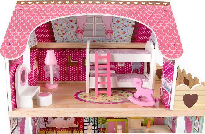 Дом для кукол Edufun. EF4109 replace and choose домик для кукол летний дом вероника бело с мебелью
