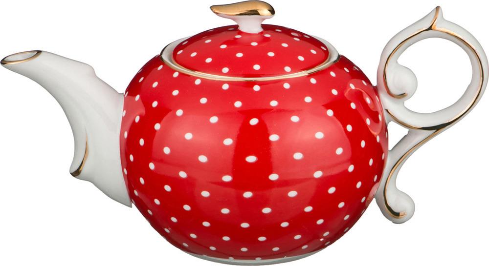 Чайник заварочный Lefard Красный в горошек, 250 мл851005