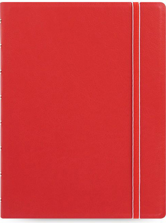 Тетрадь Filofax Classic Bright, 56 листов, в линейку, формат A5, цвет: красный