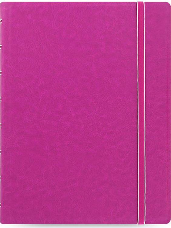 Тетрадь Filofax Classic Bright, 56 листов, в линейку, формат A5, цвет: фуксия