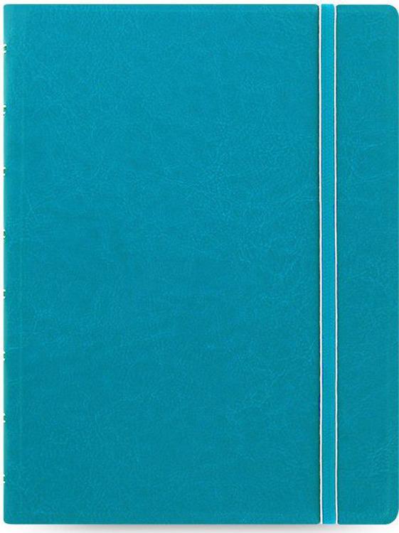Тетрадь Filofax Classic Bright, 56 листов, в линейку, формат A5, цвет: бирюзовый