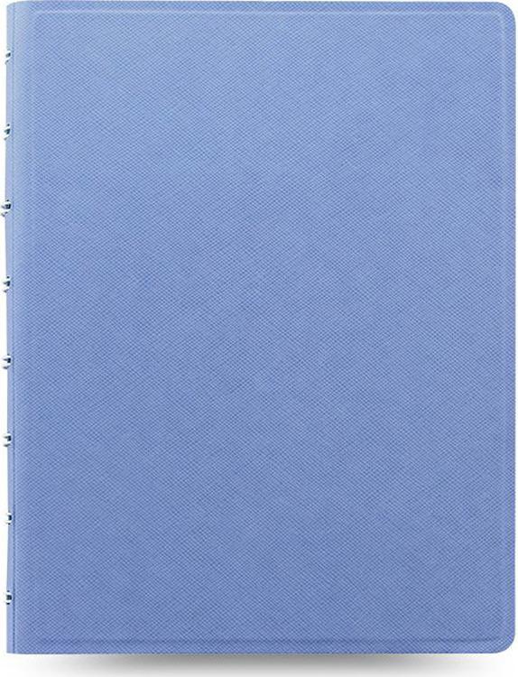 Тетрадь Filofax Saffiano, 56 листов, в линейку, формат A5, цвет: голубой