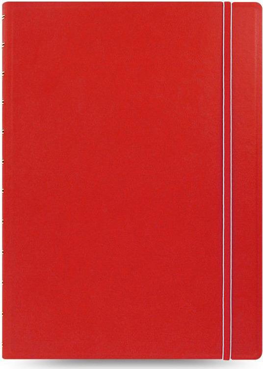 Тетрадь Filofax Classic Bright, 56 листов, в линейку, формат A4, цвет: красный
