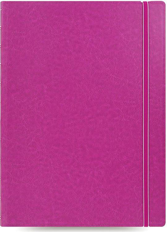 Тетрадь Filofax Classic Bright, 56 листов, в линейку, формат A4, цвет: фуксия