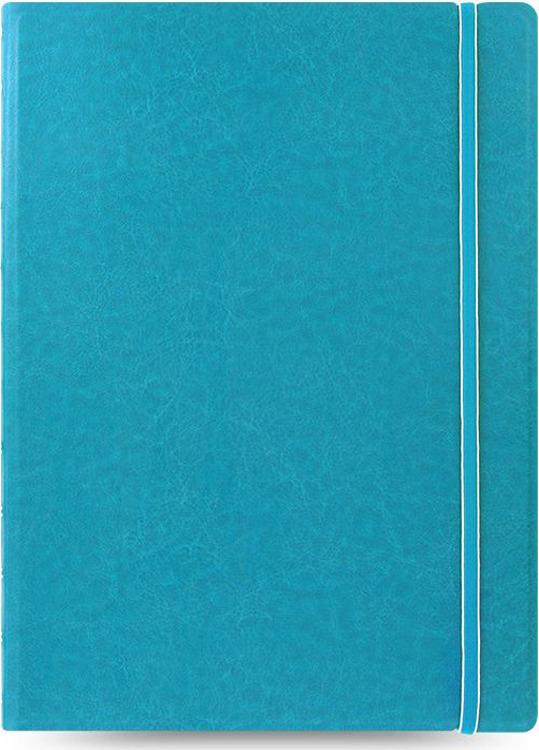Тетрадь Filofax Classic Bright, 56 листов, в линейку, формат A4, цвет: бирюзовый