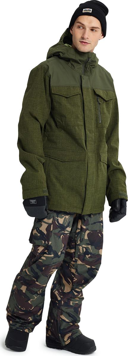 Купить Куртка мужская Burton Covert Jacket, цвет: зеленый. 13065104965. Размер L (48/50) на XWAP.SU