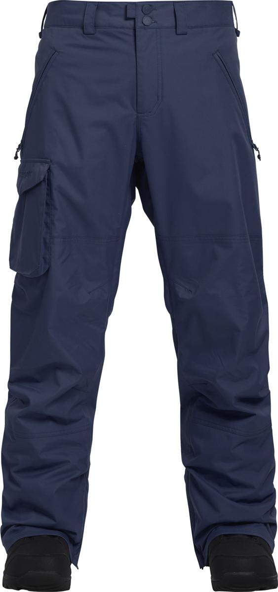 Брюки утепленные Burton брюки утепленные мужские burton covert pant цвет черный 13139103001 размер l 48 50