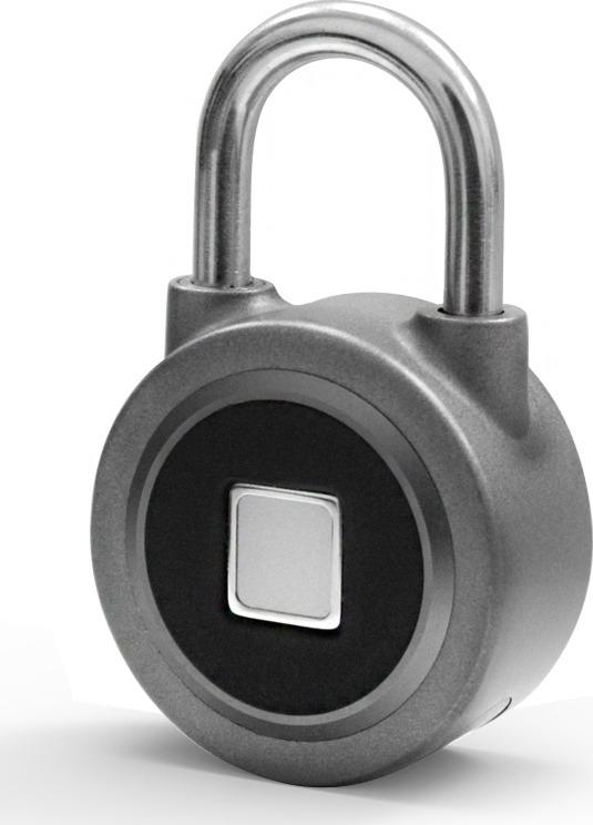 Замок GLS, электронный, универсальный, цвет: серый. GLS-U-BT_F
