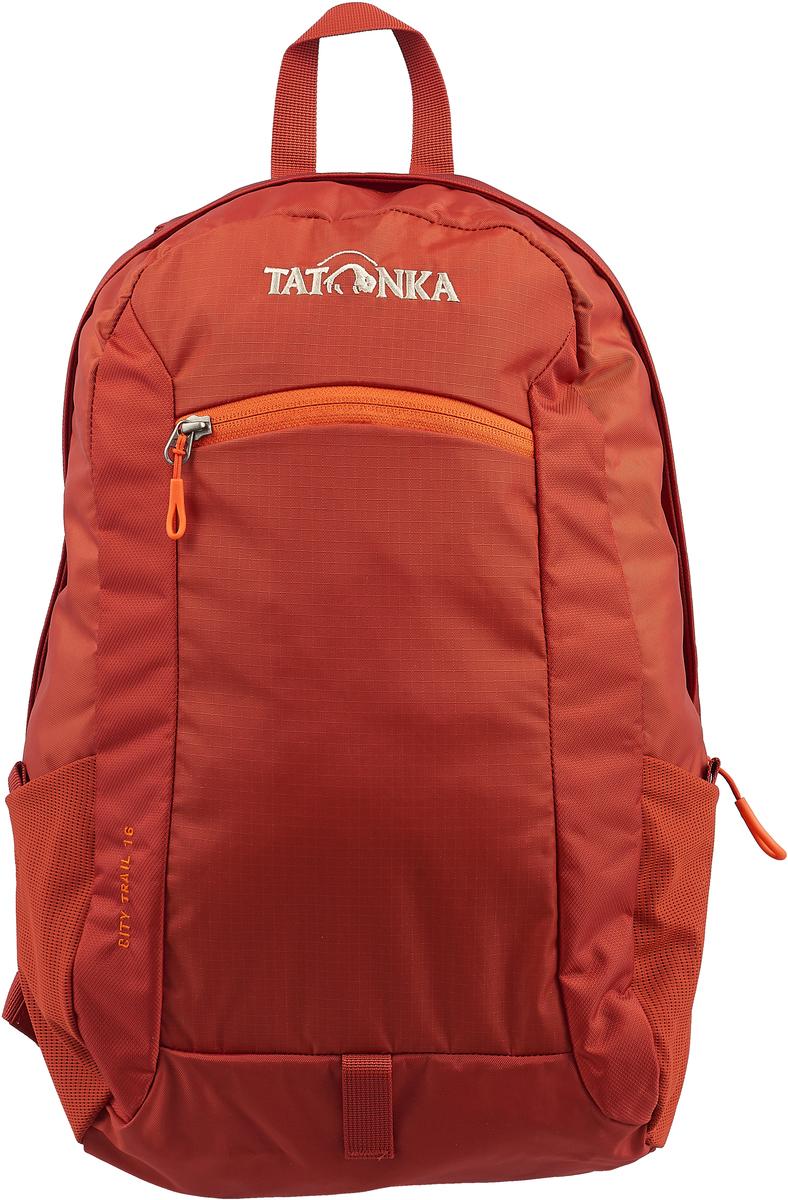 Рюкзак городской Tatonka City Trail, цвет: темно-красный, 16 л цена и фото