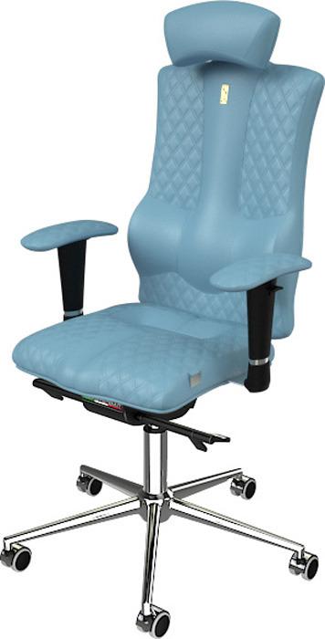 Компьютерное кресло Kulik System Elegance Design, цвет: светло-синий