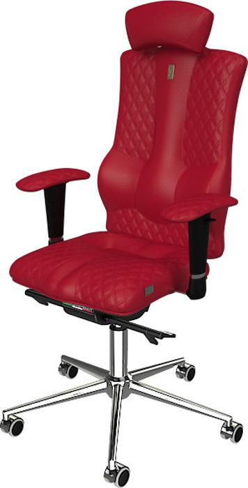 Компьютерное кресло Kulik System Elegance, цвет: красный