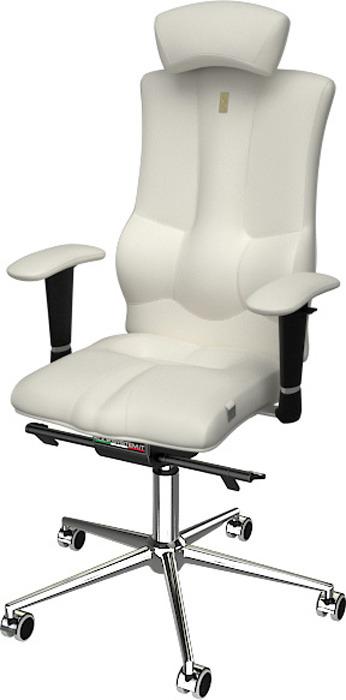 Компьютерное кресло Kulik System Elegance, цвет: белый. 1004