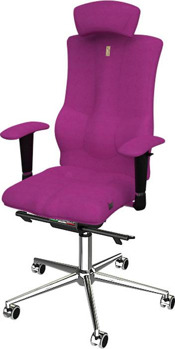 Компьютерное кресло Kulik System Elegance, цвет: розовый азур и азмар