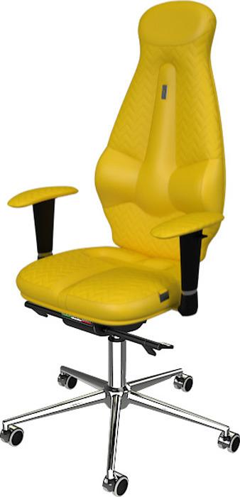 Компьютерное кресло Kulik System Galaxy, цвет: желтый