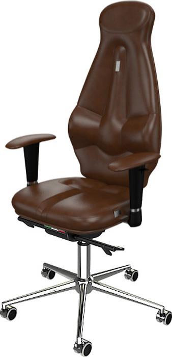 Компьютерное кресло Kulik System Galaxy, цвет: коричневый