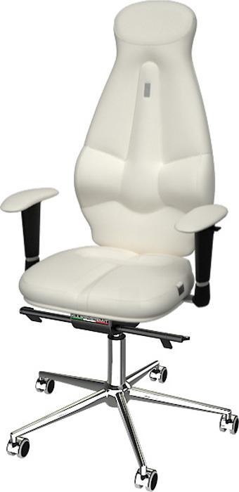 Компьютерное кресло Kulik System Galaxy, цвет: белый