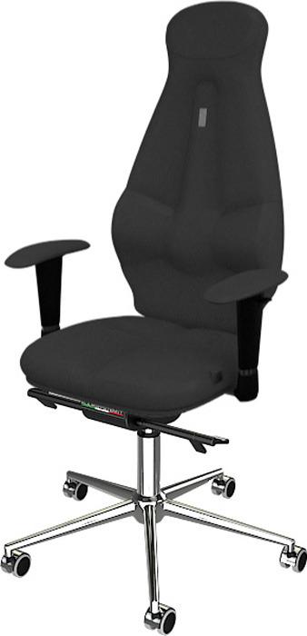 Компьютерное кресло Kulik System Galaxy, цвет: серый азур и азмар