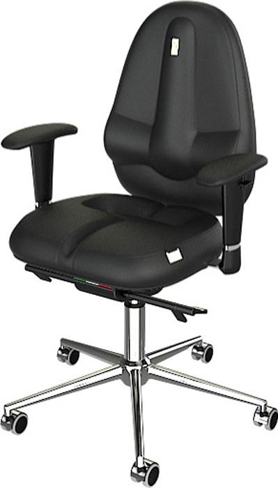 Компьютерное кресло Kulik System Classic Maxi, цвет: черный