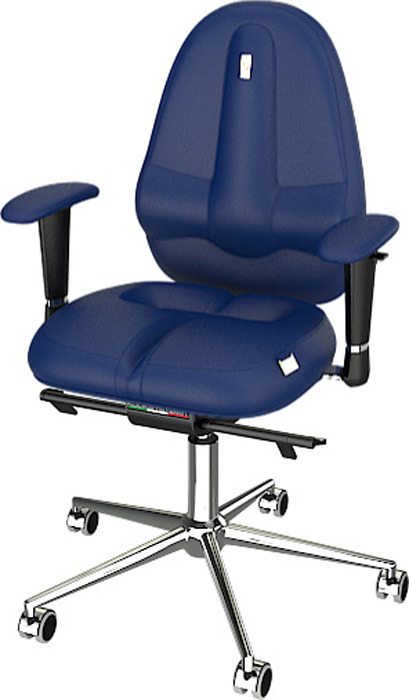 Компьютерное кресло Kulik System Classic Maxi , цвет: синий
