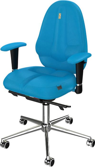 Компьютерное кресло Kulik System Classic Maxi, цвет: бирюзовый азур и азмар
