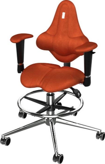 Кресло детское Kulik System Kids, оранжевый