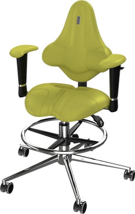 Кресло детское Kulik System Kids, оливковый