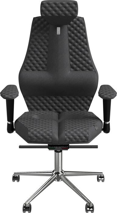 Компьютерное кресло Kulik System Nano Mesh, цвет: серый азур и азмар