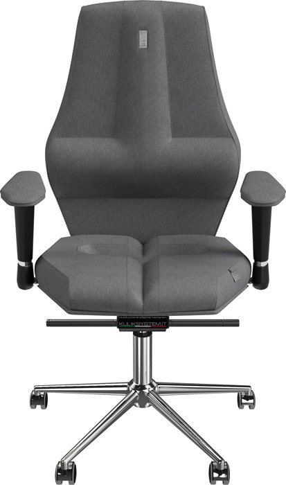 Компьютерное кресло Kulik System Nano, цвет: серебряный азур и азмар