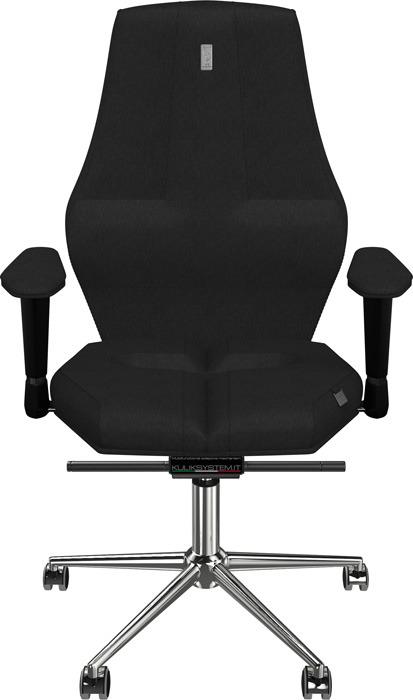 Компьютерное кресло Kulik System Nano, цвет: черный азур и азмар
